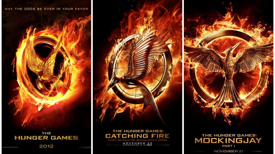 hunger games series names
